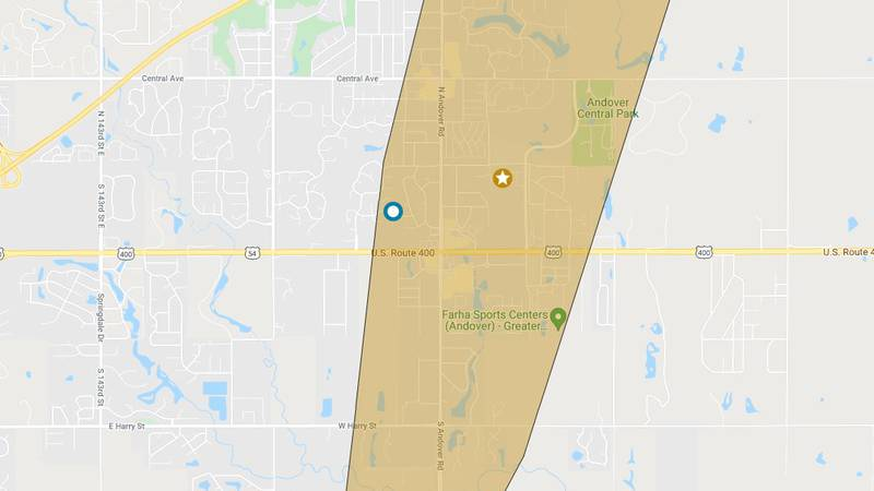 Andover power outage 10.6.21