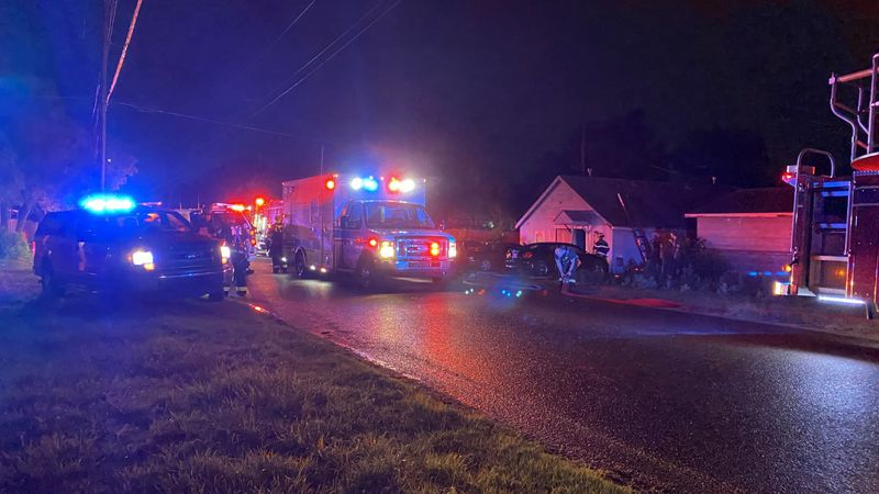 A Wichita fire fighter was injured while battling a house fire Friday night, June 11.