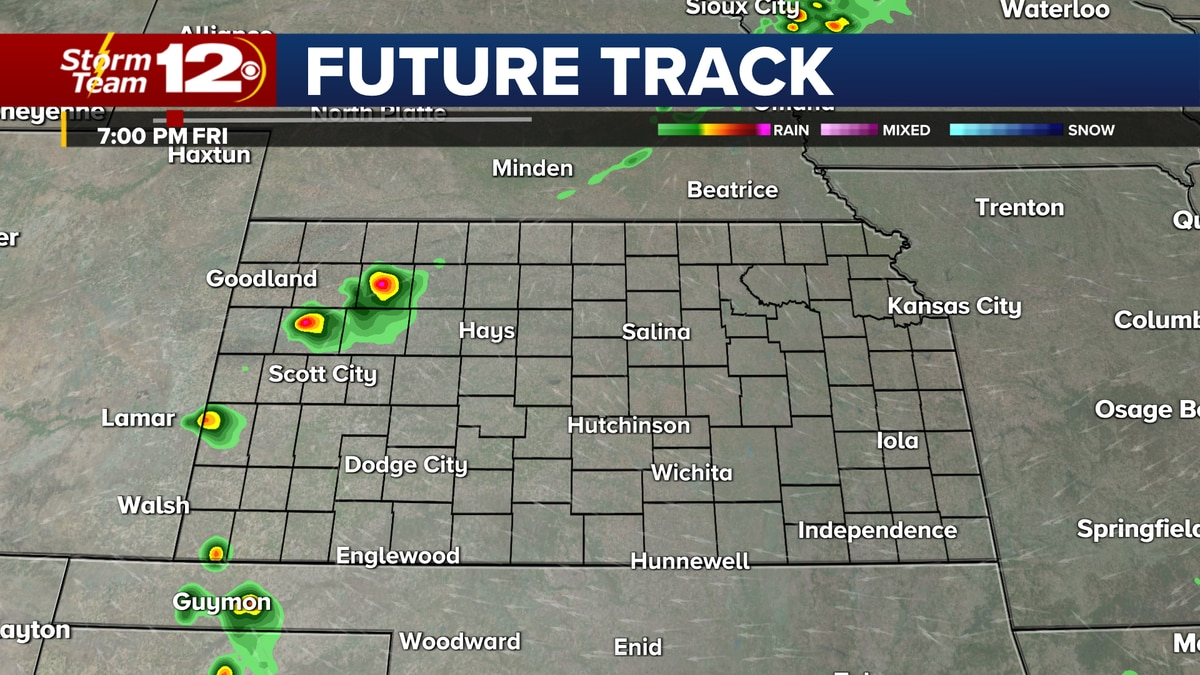 Storm chances return for some on Friday
