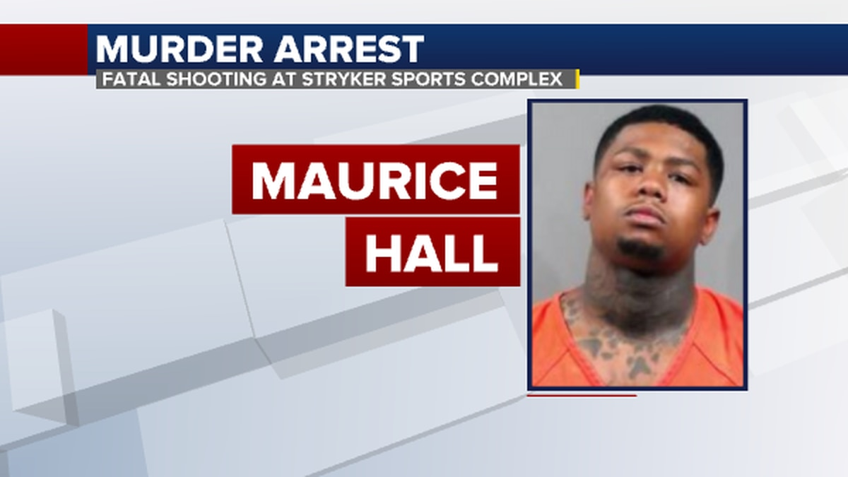 Man arrested in connection with fatal shooting at Stryker Sports Complex