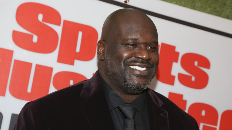 Shaquille O'Neal attends the Sports Illustrated Sportsperson of the Year Awards at the Ziegfeld...
