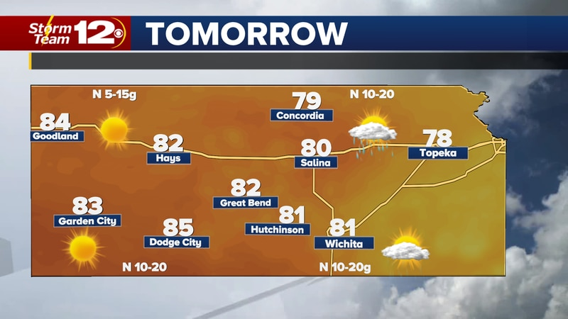 Cooler weather is on the way for the end of the weekend.