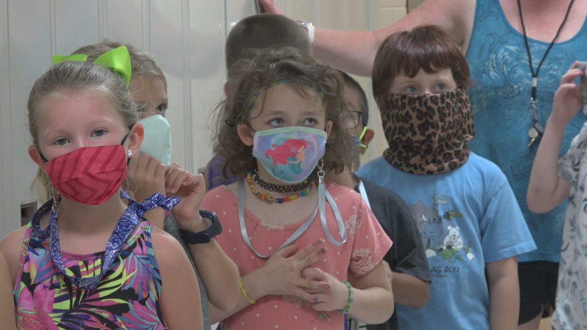 FILE - Lena-Winslow Students in masks