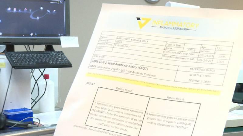 Inflammatory Markers Laboratory is a Wichita laboratory conducting a study on COVID-19...
