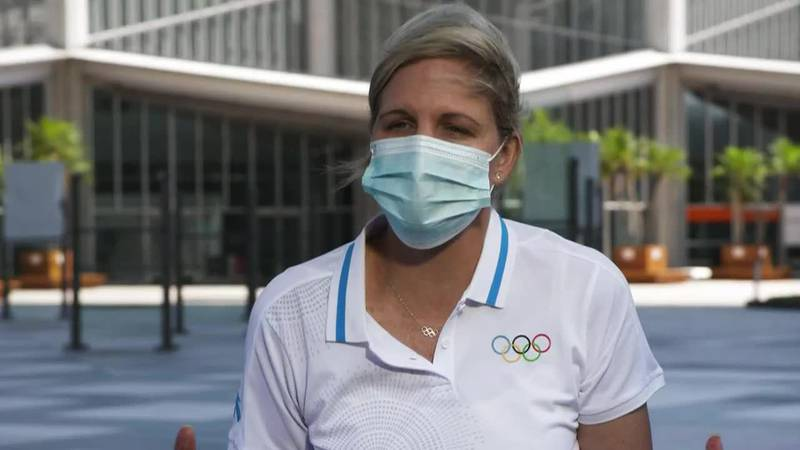 Kirsty Coventry, the head of the IOC Athletes' Commission, tells CNN's Coy Wire that she has...