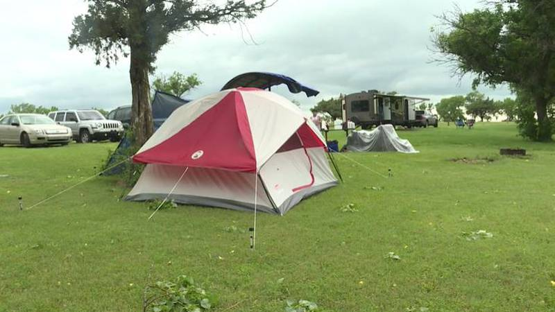 Campsite at El Dorado State Park