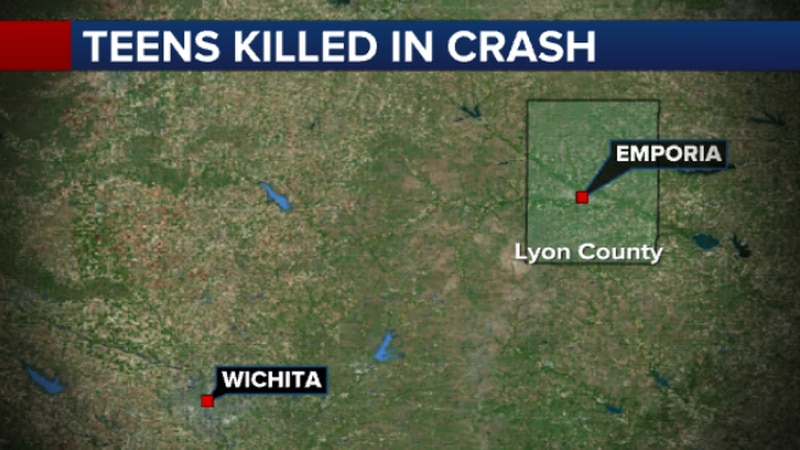 Three teenagers are dead after a crash in Lyon County.