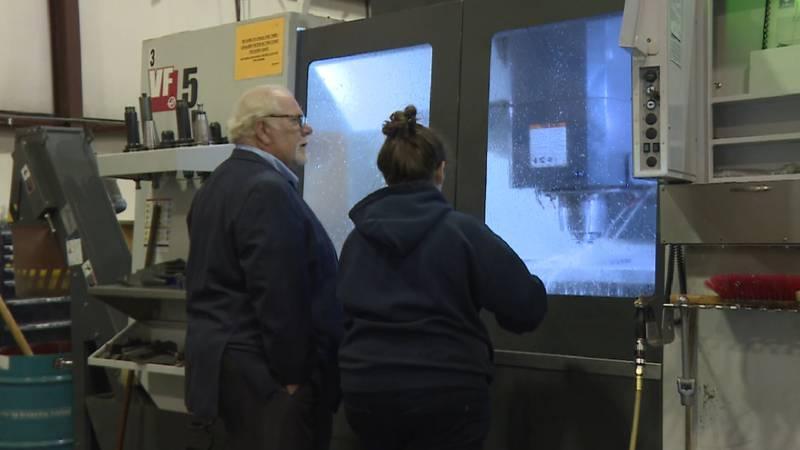 McGinty Machine Company in Wichita, Kansas