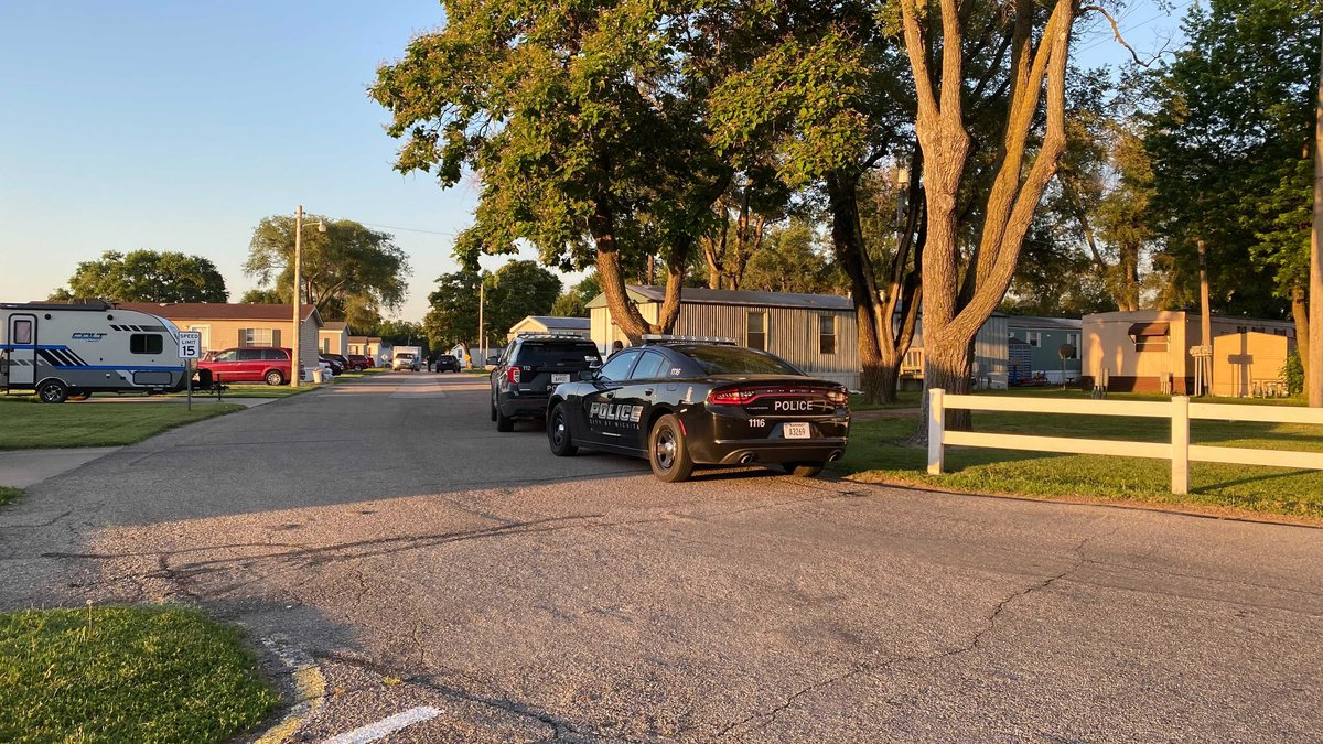 Wichita police said a woman reported being struck with a hammer by her boyfriend Wednesday...