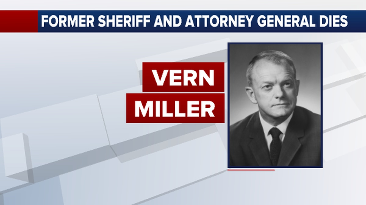 Former Sedgwick County sheriff and Kansas Attorney General Vern Miller has died at the age of 92.