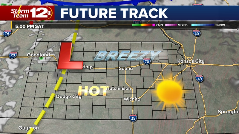Record heat possible today- hot weekend