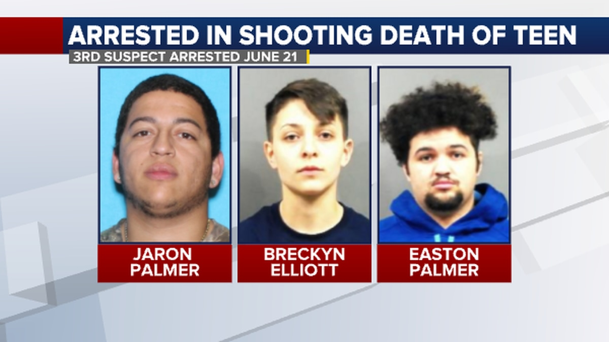 Police arrested Jaron Palmer on June 21, the third suspected booked for murder in the April 25...