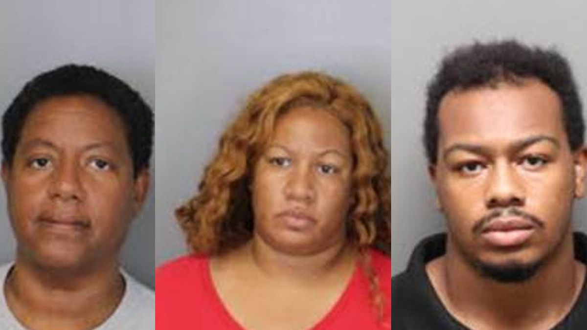 Phyllis Jones, 61, her daughter Kimberly Jordan, 40, and Jordan's son, 22-year-old Dedricz Perry, were taken into custody Tuesday by U.S. Marshals. Officials connected them as the owners of the four dogs involved in the mauling.