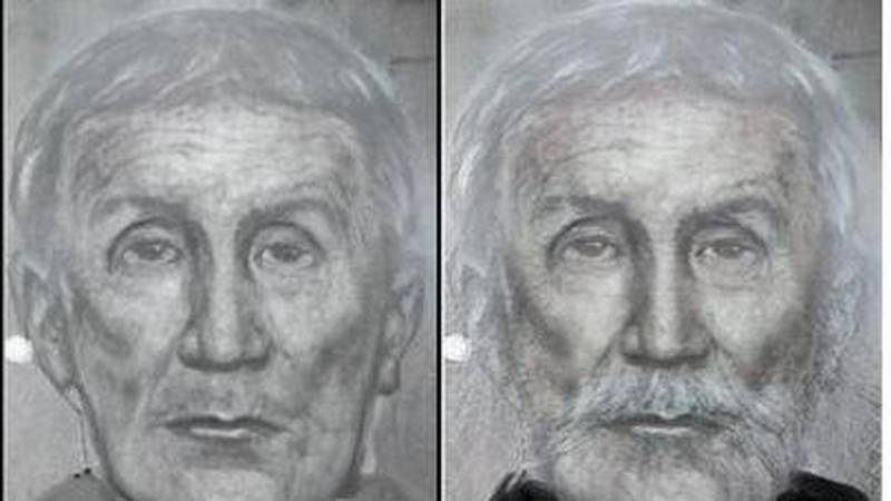 A sketch of what authorities believe the I-70 killer may look like today.