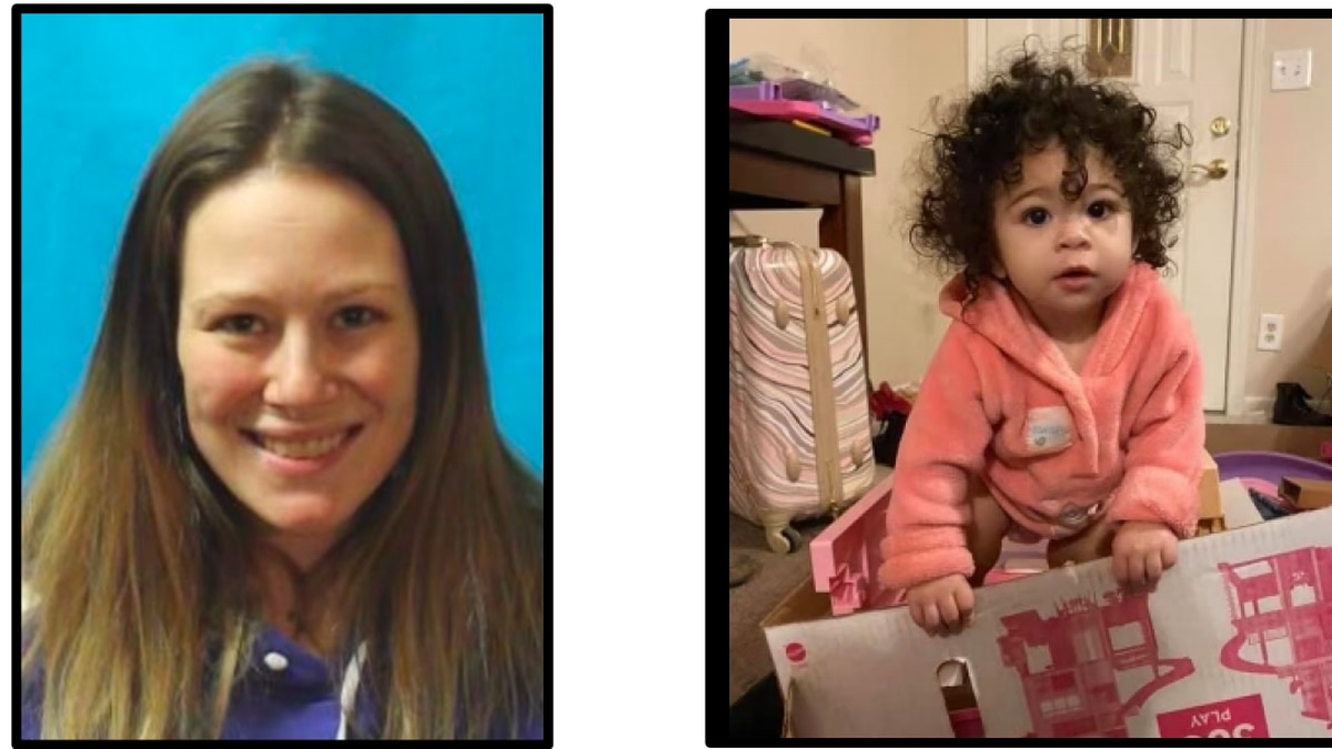 Police say Anna and Amora Rossi disappeared Thursday night.