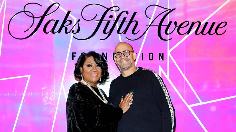 Patti LaBelle and Marc Metrick at the Saks Foundation Fall Fundraiser