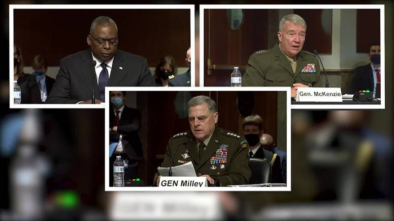 America's top military commanders faced a contentious grilling on Capitol Hill, testifying...