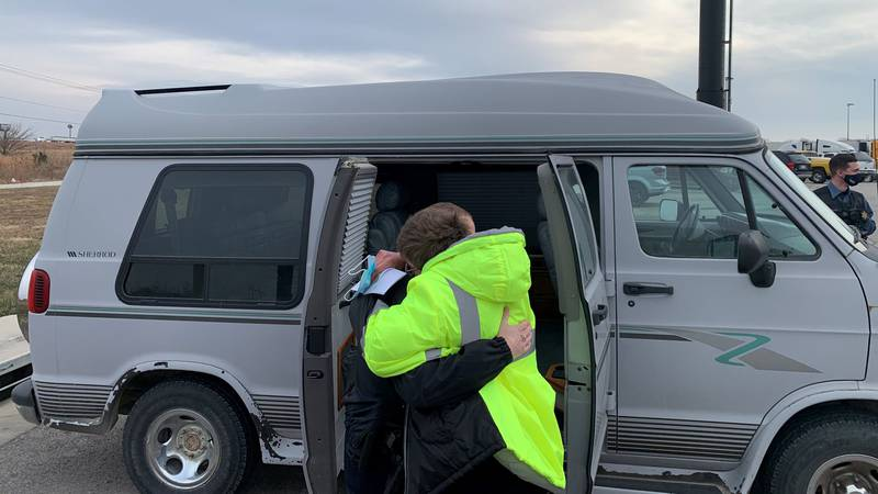 A Franklin County mother was surprised by deputies with a van to get to and from work.