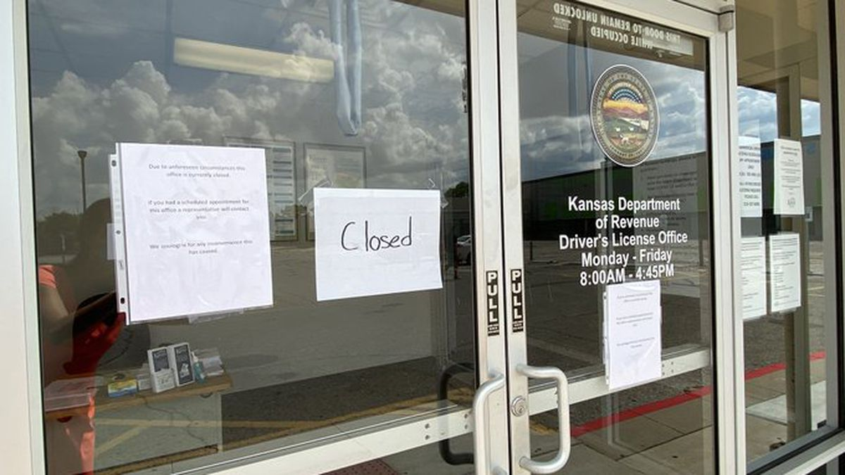 The Twin Lakes DMV remains closed after an employee tested positive for COVID-19.