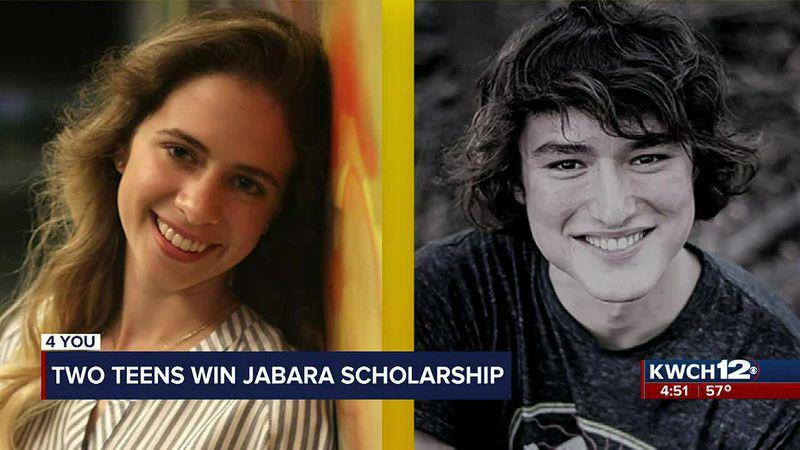2 teens win Jabara Scholarship