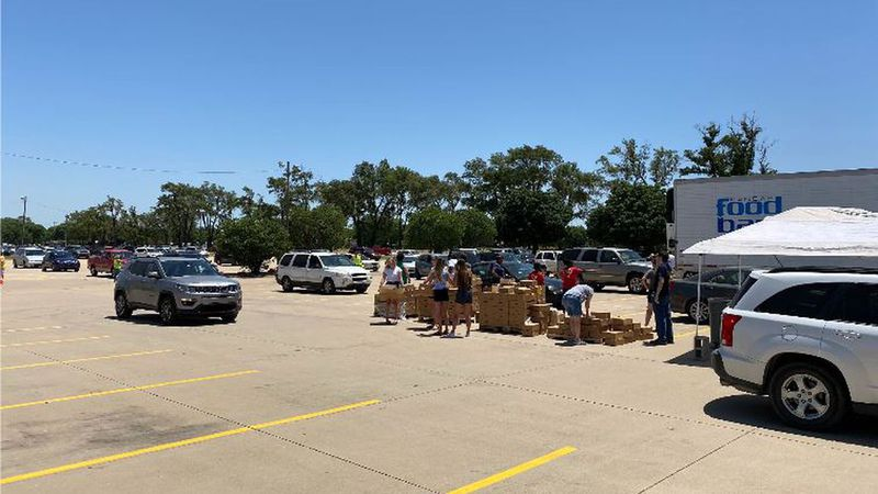 Convoy of Hope Wichita conducted weekly food distributions for 33 weeks straight during the...