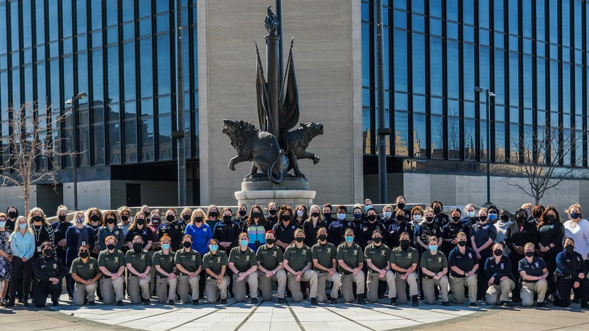 The Wichita Police Department shared this photo on its Facebook page March 2 honoring all of...