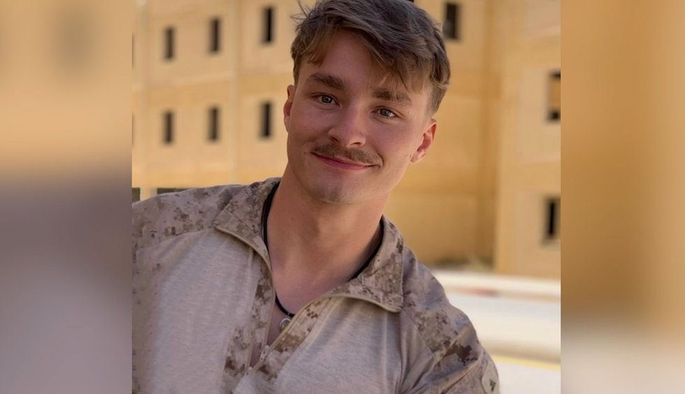 Daegan Page, a US Marine from Nebraska, has been identified as one of the 13 service members...