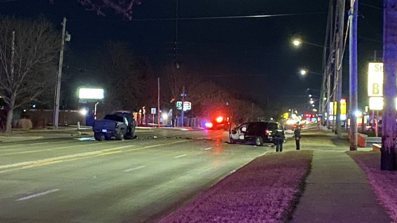 One person seriously hurt in southwest Wichita crash