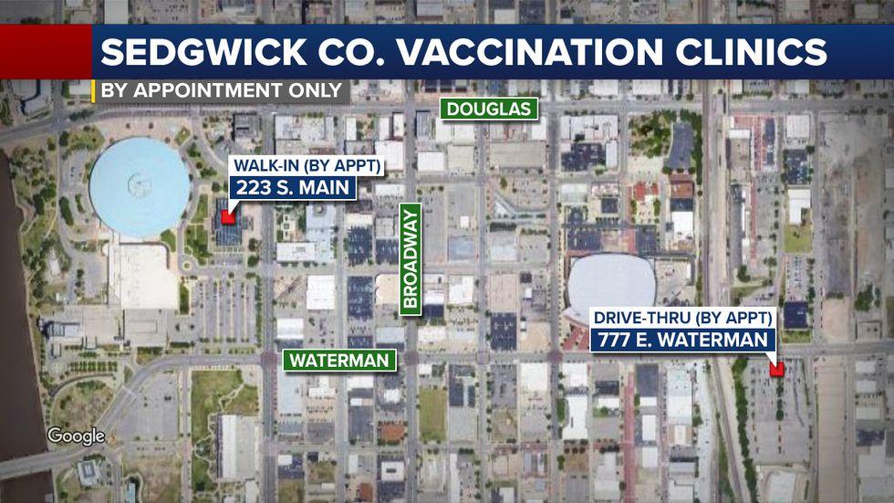 Sedgwick County Vaccination Clinics