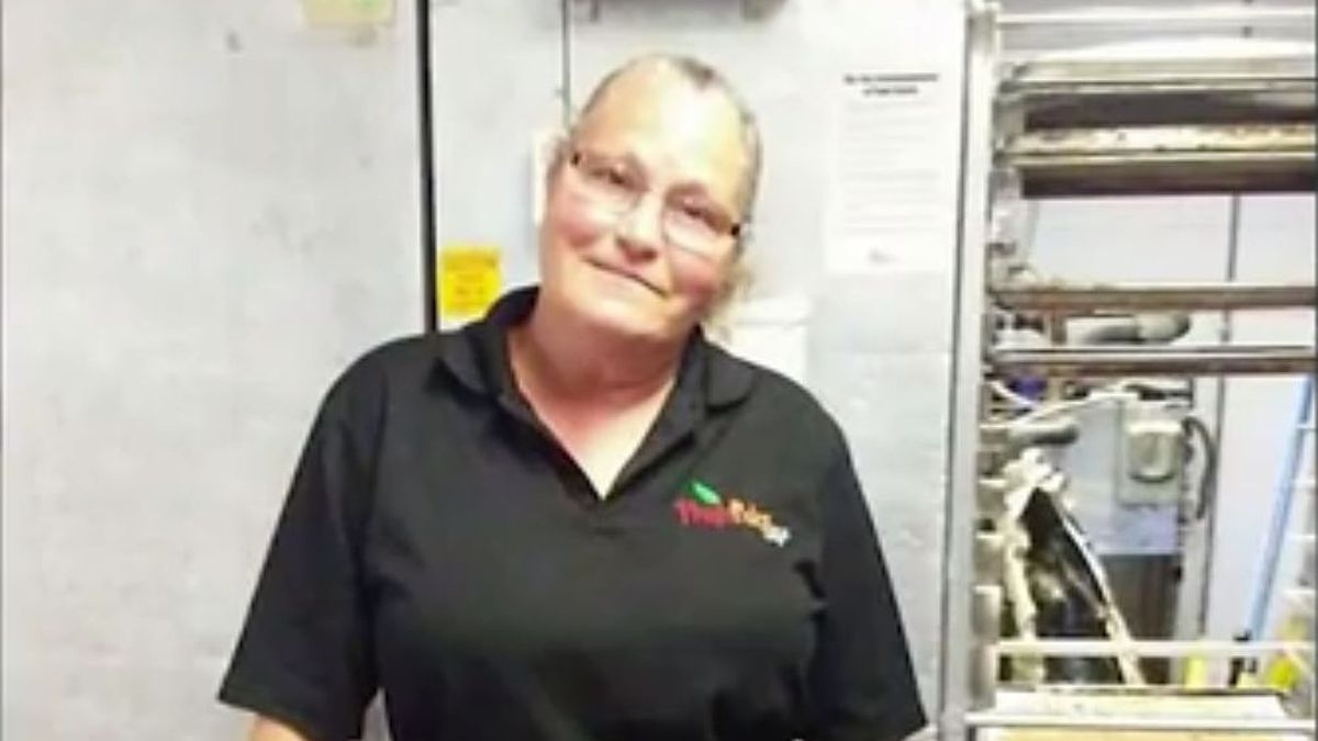 Bonnie Kimball said she was terminated by her employer a day after she gave a student lunch, even though he couldn't pay for it.