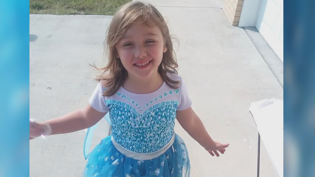 Zoey Landis, 6, is not expected to walk following a car wreck that injured her spinal cord.