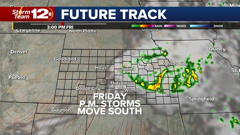 Chances for storms return to eastern Kansas