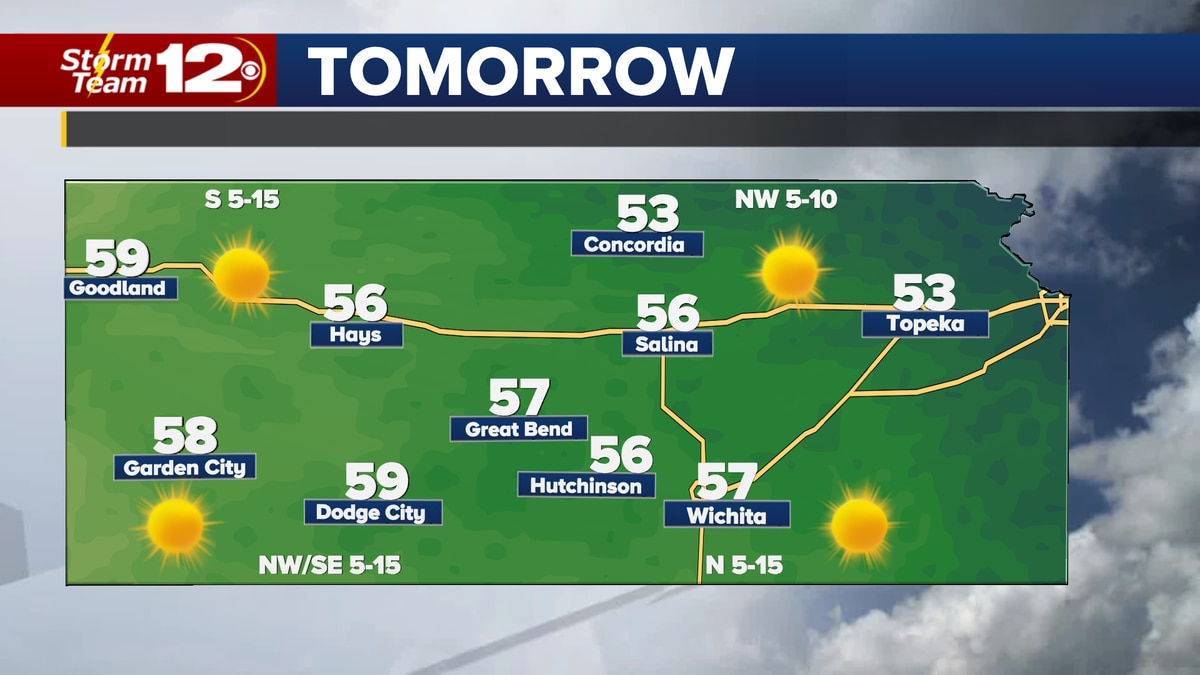 A cold front will move through the state Saturday evening, bringing some cooler temps into the...