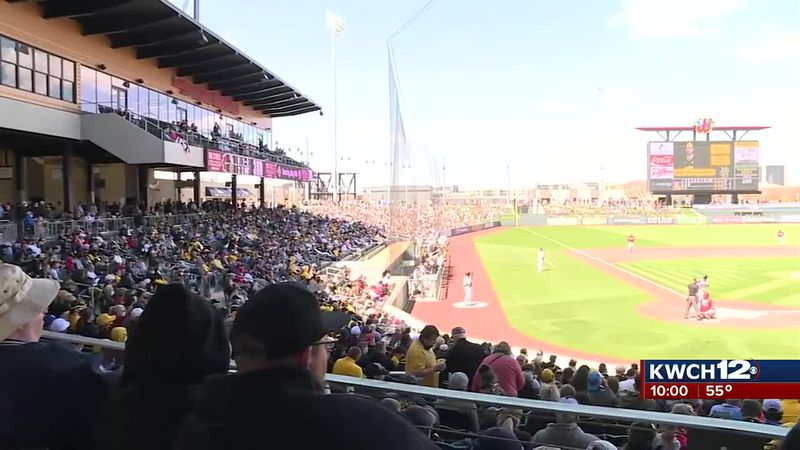 Thousands of fans turn out to watch Wichita State in Riverfront debut