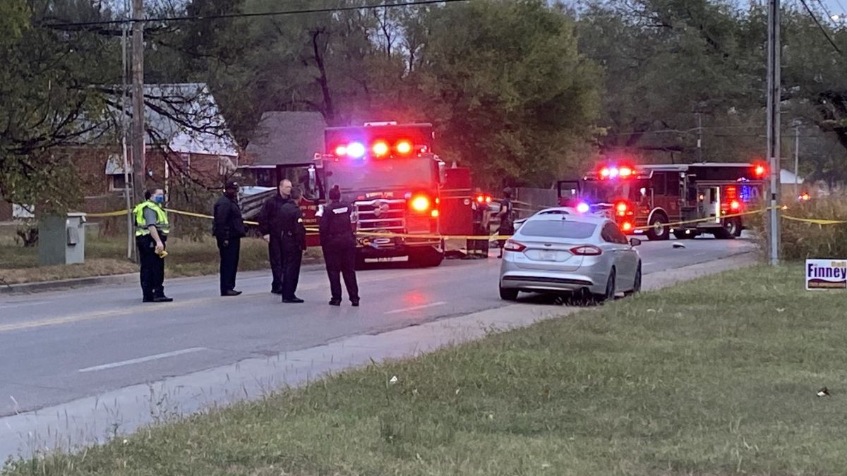 Two people suffered critical injuries in this crash near 17th and Minnesota in north Wichita.