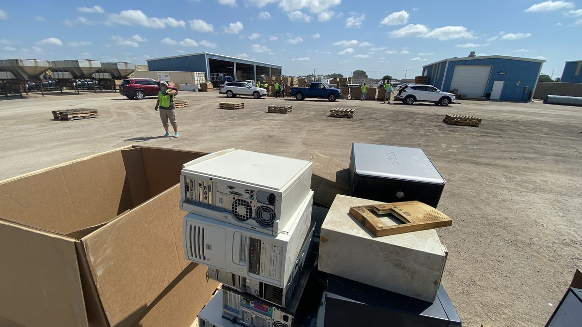 From 9 a.m. to 2 p.m. Aug. 13-15 and 20-22, the public can drop off unwanted computers, cell phones, tablets, fax-machines and other e-waste to the County West Yard free of charge.