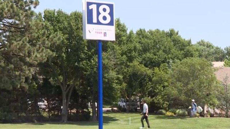 Day 2 at the Wichita Open in Wichita, Kansas