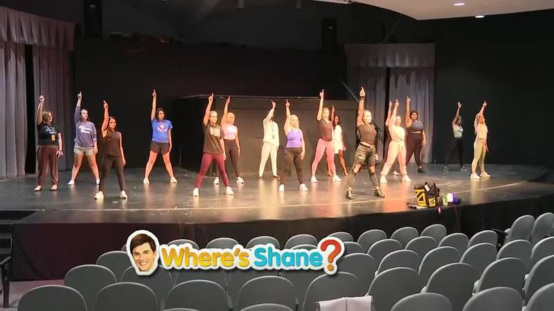 Where's Shane? Miss Kansas