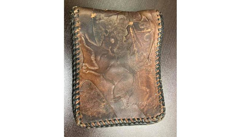 About 50 years after it was lost, a wallet was turned in to the Great Bend Police Department...