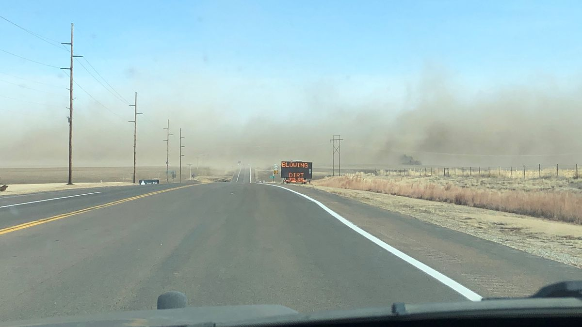 The Kansas Highway Patrol said high winds and blowing dirt forced crews to close a state...