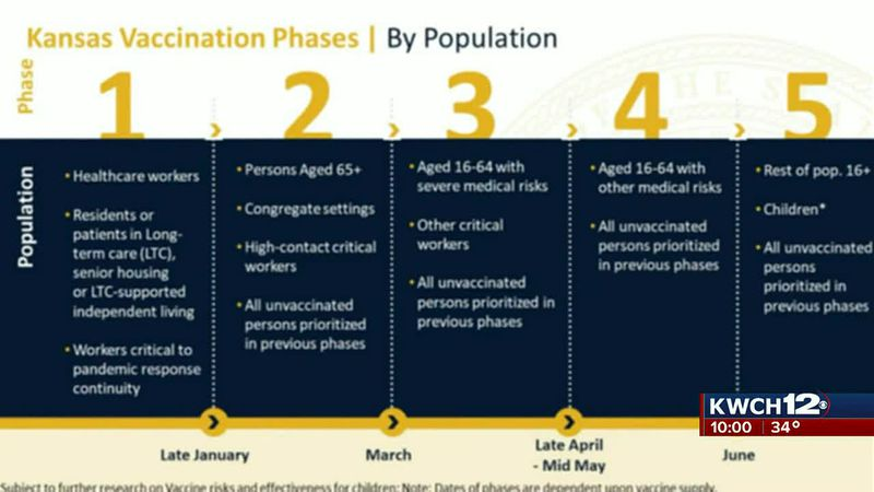Vaccine rollout phases