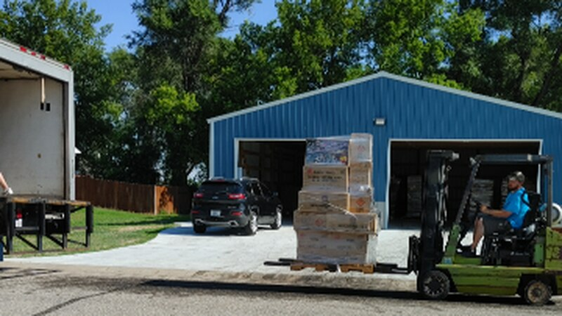 Fireworks illegally stored