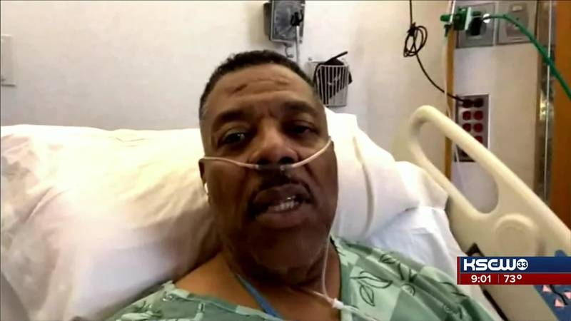 """Greg """"The Hitman"""" Williams tested positive for COVID-19 on Sept. 2. He was then hospitalized..."""