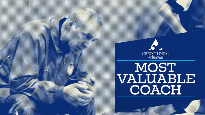 Credit Union of America Catch It Kansas Most Valuable Coach