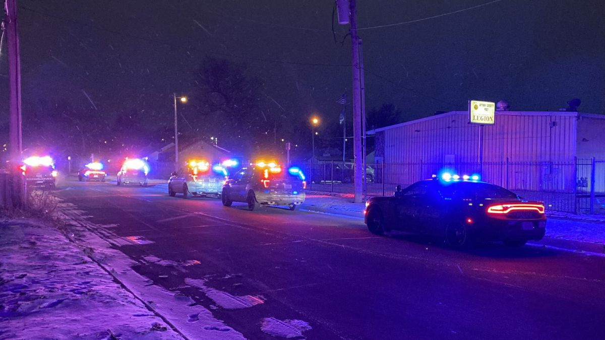 A heavy police presence follows a shooting call near 13th and Hydraulic in N. Wichita on...