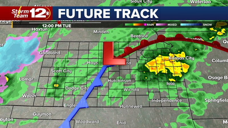 Rain will take over the state on Tuesday, but sunshine will return Wednesday and it will...