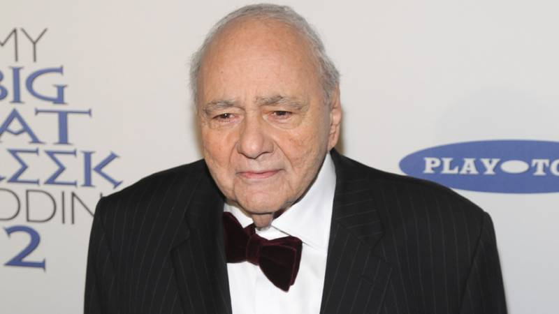 Michael Constantine attends the premiere of 'My Big Fat Greek Wedding 2' at the AMC Loews...