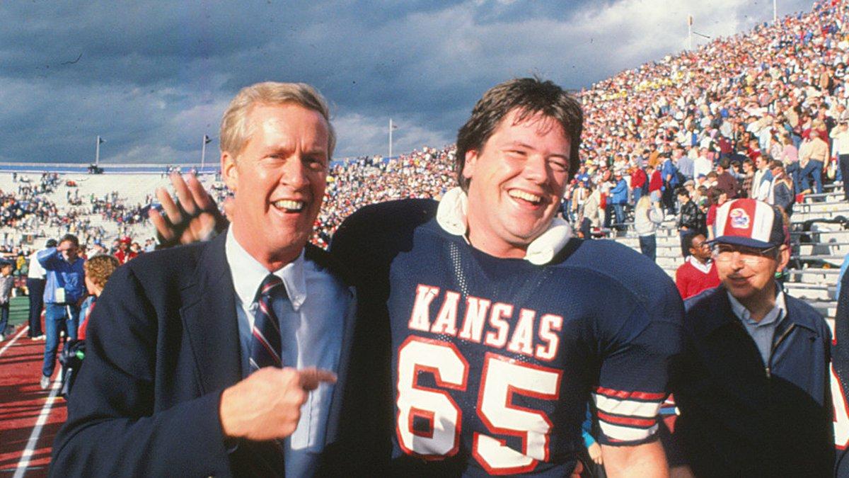 Former Kansas Athletics Director and men's basketball student-athlete Monte Johnson died...