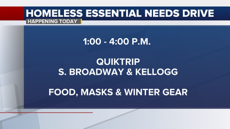 The organization plans to distribute a wide range of items, including food, masks, and winter...
