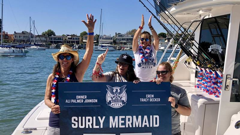 """The Surly Mermaid holds two WHOW Tournament """"firsts""""; she featured one of the first all-female..."""